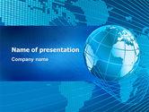 Global: Weltweit PowerPoint Vorlage #03279