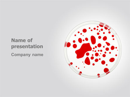 Technology and Science: Lifeblood PowerPoint Template #03281