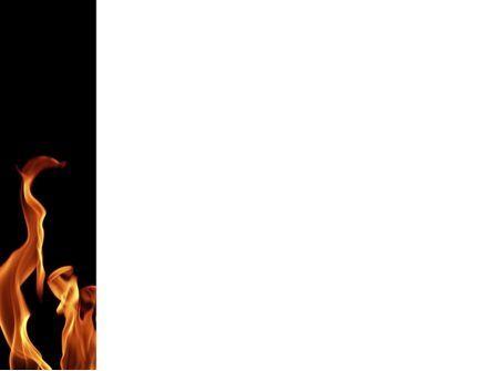 Fire PowerPoint Template, Slide 3, 03282, Abstract/Textures — PoweredTemplate.com
