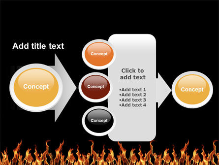 Fire PowerPoint Template Slide 17