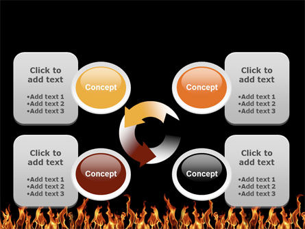 Fire PowerPoint Template Slide 9