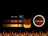 Fire PowerPoint Template#11