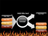 Fire PowerPoint Template#14