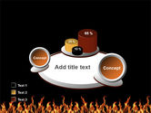 Fire PowerPoint Template#16