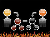 Fire PowerPoint Template#19