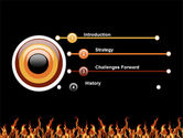 Fire PowerPoint Template#3