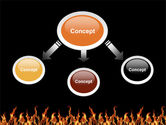 Fire PowerPoint Template#4