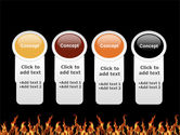 Fire PowerPoint Template#5