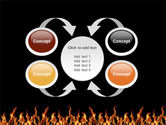 Fire PowerPoint Template#6