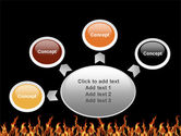 Fire PowerPoint Template#7