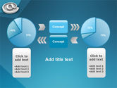 At Sign PowerPoint Template#11