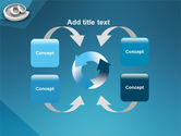 At Sign PowerPoint Template#6