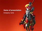 Education & Training: Knight PowerPoint Template #03285