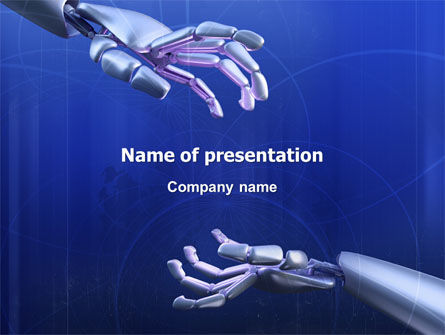 Technology and Science: Cyborgs PowerPoint Template #03287