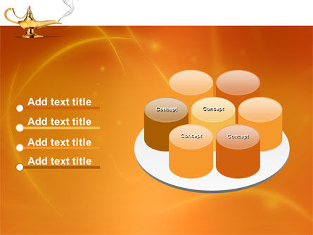 Genie Lamp PowerPoint Template Slide 12