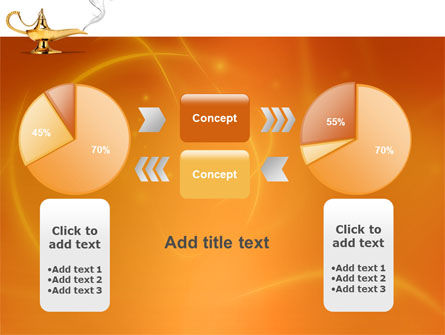 Genie Lamp PowerPoint Template Slide 16