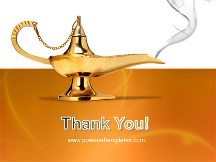 Genie Lamp PowerPoint Template Slide 20