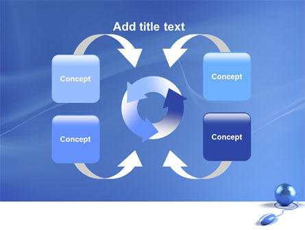 Computerized World PowerPoint Template Slide 6