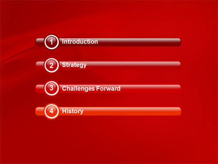 Lady in Red PowerPoint Template Slide 3
