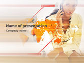 Telecommunication: Mobility PowerPoint Template #03294