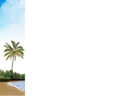 Tropic Island PowerPoint Template, Slide 3, 03297, Nature & Environment — PoweredTemplate.com