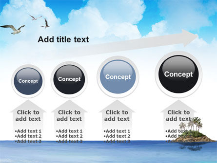 Tropic Island PowerPoint Template Slide 13