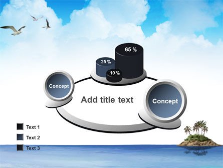 Tropic Island PowerPoint Template Slide 16