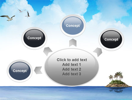 Tropic Island PowerPoint Template Slide 7