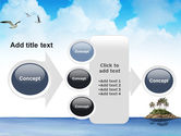 Tropic Island PowerPoint Template#17