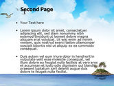 Tropic Island PowerPoint Template#2