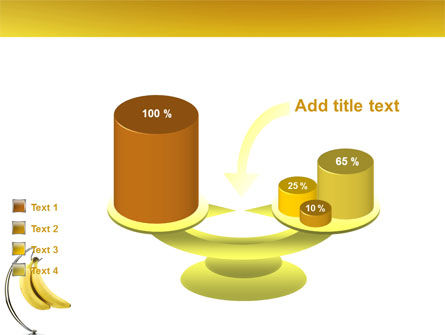 Bananas PowerPoint Template Slide 10