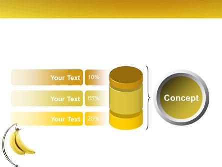 Bananas PowerPoint Template Slide 11