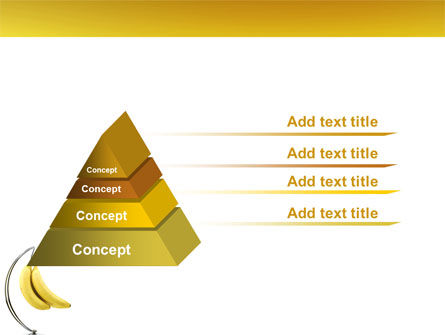 Bananas PowerPoint Template Slide 12