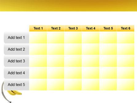 Bananas PowerPoint Template Slide 15