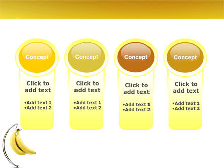 Bananas PowerPoint Template Slide 5