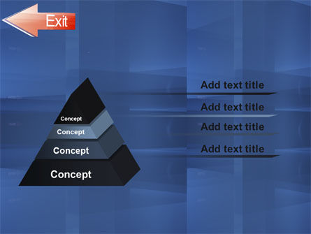 Way To Exit PowerPoint Template Slide 12
