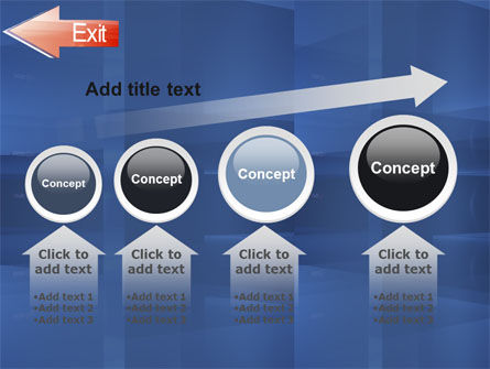 Way To Exit PowerPoint Template Slide 13