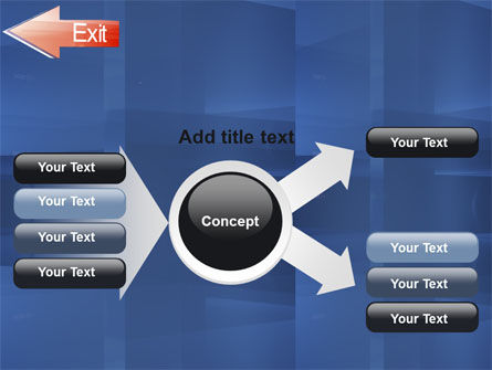 Way To Exit PowerPoint Template Slide 14