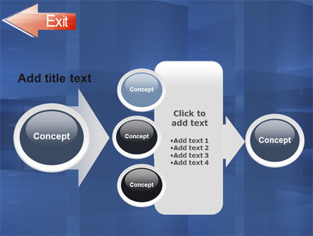 Way To Exit PowerPoint Template Slide 17
