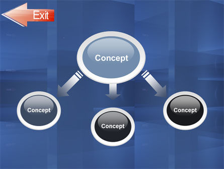 Way To Exit PowerPoint Template, Slide 4, 03300, Consulting — PoweredTemplate.com