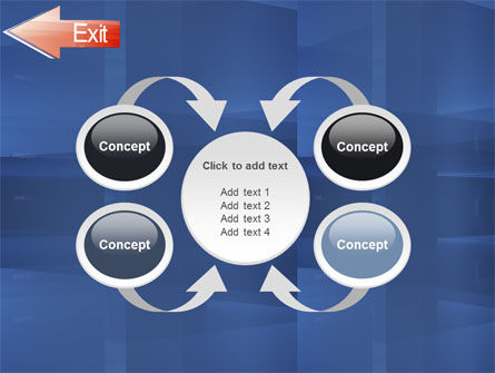 Way To Exit PowerPoint Template Slide 6