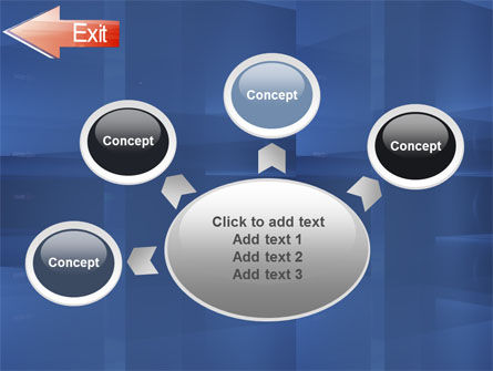 Way To Exit PowerPoint Template Slide 7