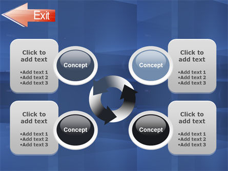 Way To Exit PowerPoint Template Slide 9