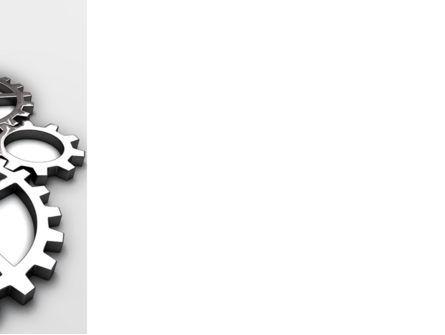 Gear Drive PowerPoint Template, Slide 3, 03301, Utilities/Industrial — PoweredTemplate.com