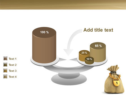 Bag Of Wealth PowerPoint Template Slide 10