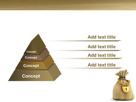 Bag Of Wealth PowerPoint Template Slide 12