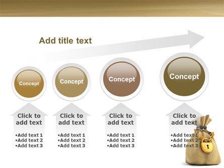 Bag Of Wealth PowerPoint Template Slide 13