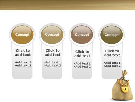 Bag Of Wealth PowerPoint Template Slide 5