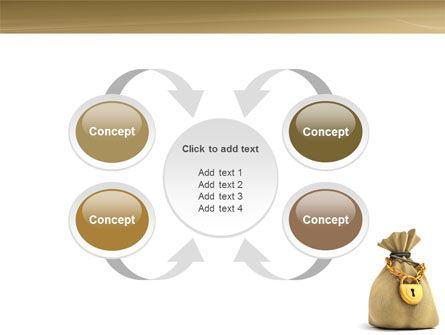 Bag Of Wealth PowerPoint Template Slide 6