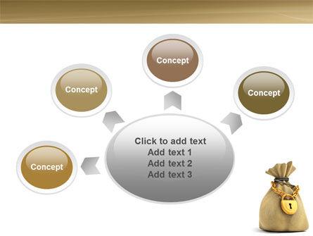Bag Of Wealth PowerPoint Template Slide 7